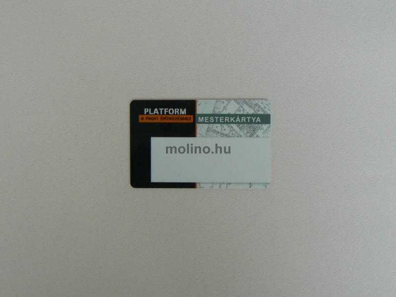 Aláírómezős plasztikkártya 003