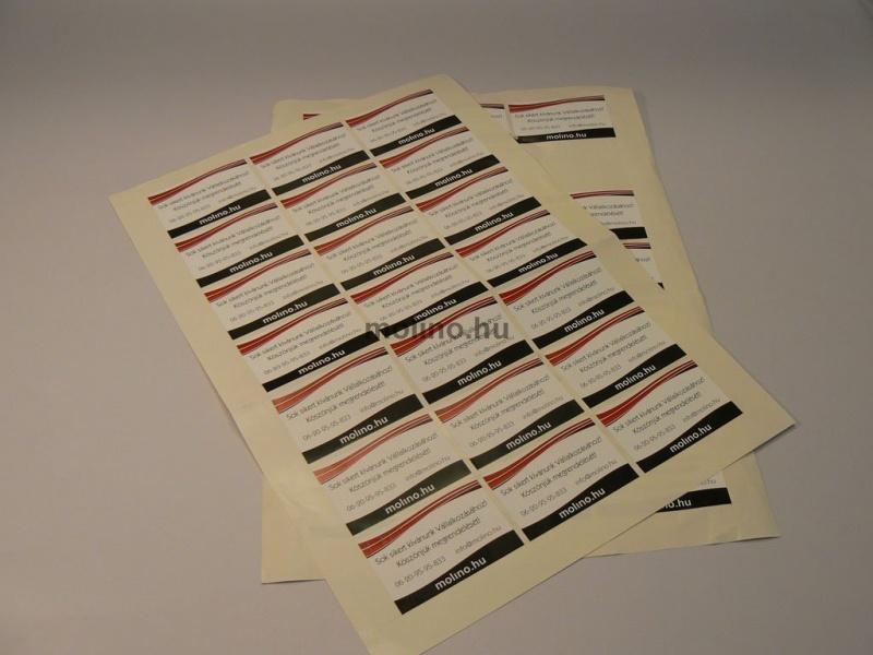 287f1cd5de Címke gyártás papír alapú matricából Címke gyártás papír alapú matricából