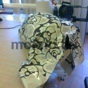 3D melegíthető matrica