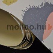 Papír alapú nyomtatott tapéta