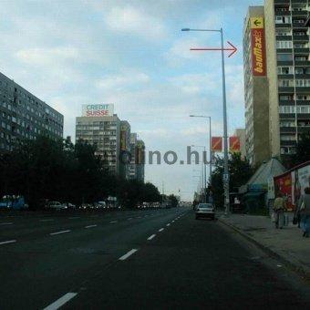 Szentendrei út kifelé, Raktár utcai kereszteződés után jobboldalt