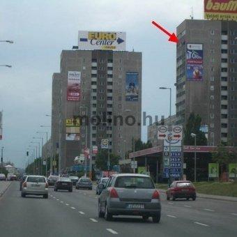 Szentendrei út - Bogdáni út sarok Árpád Híd felé BAL
