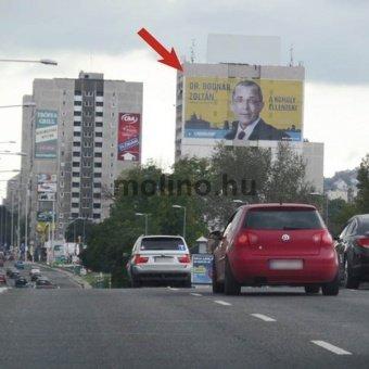 Szentendrei út - Bogdáni út sarok Árpád Híd felé