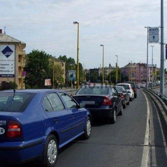 BAH csomópont M1-M7 kivezető Budaörsi út