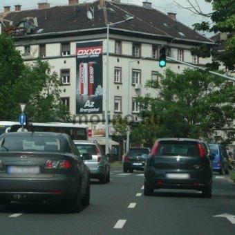 Bocskai út – Nagyszőllős u. kereszteződés M1-M7 felől