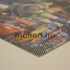 Perforált ablakfólia / One way vision nyomtatás