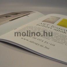 Brossúra / Prospektus nyomtatás