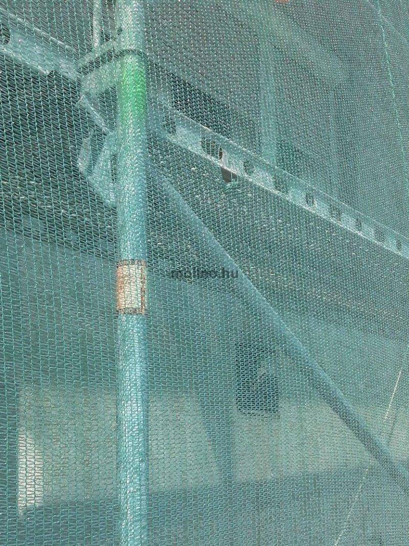 Raschel védőháló - építési háló