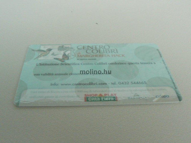 Hologramos plasztikkártya 003