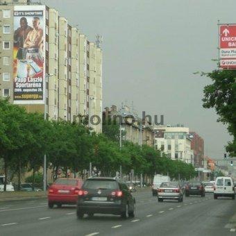 Duna Plaza előtt Váci út Nyugati irányába