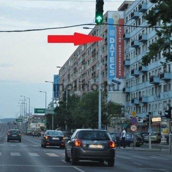 Váci út – Árpád híd – Róbert K. centrum felé