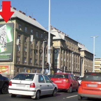Váci út Duna Plaza előtt Gyöngyösi u. irányába