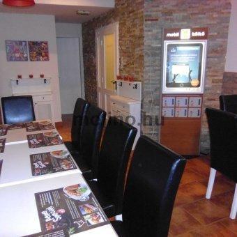 Mobiltöltőállomás Étterem hálózat