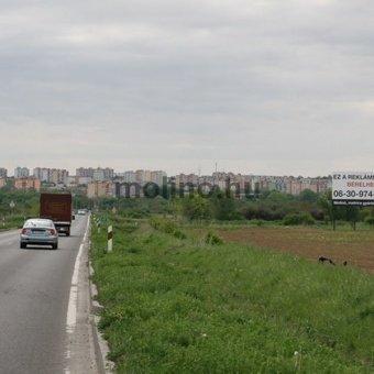Pécs, Nyugati ipari út, Siklósi út M5 kivezető felé