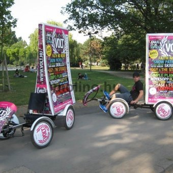 4 kerekű reklámkerékpár 002