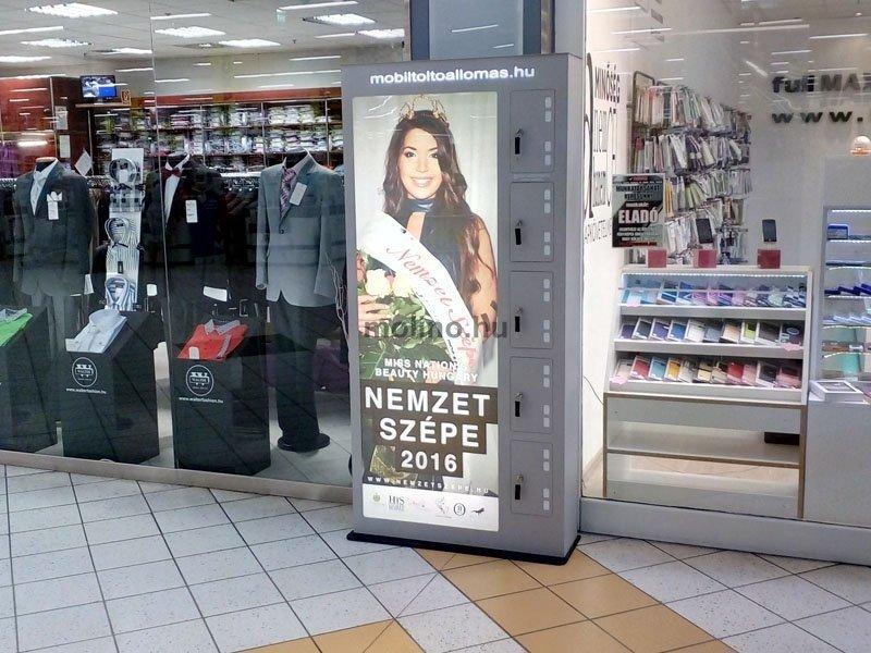 Mobiltöltőállomás Auchan 009