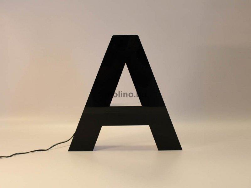 Világító plexi betűdoboz 01