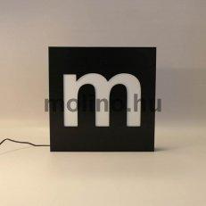 Mart dibond világító doboz