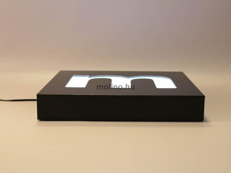 Hajlított dibond világító doboz 06