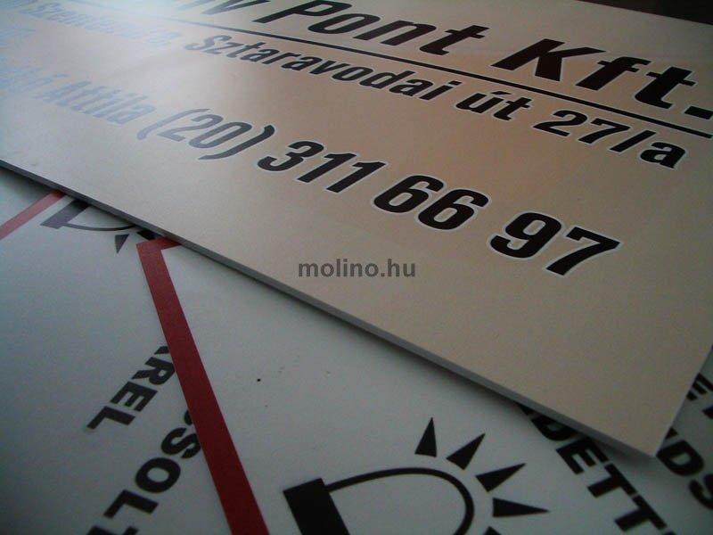 Ongro tábla nyomtatás 020