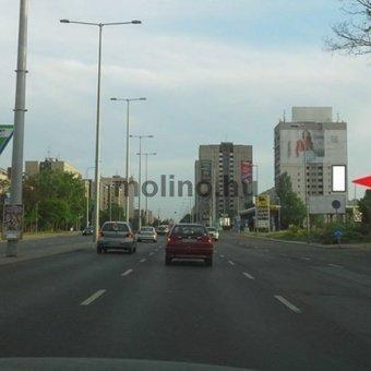Szentendrei út - Bogdáni út sarok Árpád Híd felé JOBB alsó