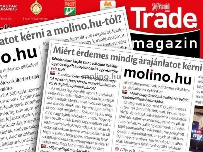 Molino Kft. a Trade magazinban