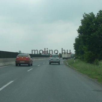 Szentendre, 11-es út Budapest irányába baloldalt