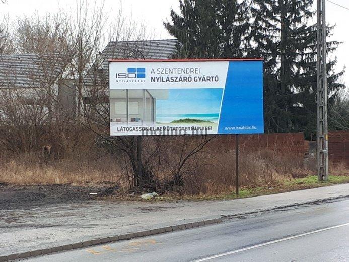 Óriásplakát kampányba kezdett az ISO Ablak Kft.