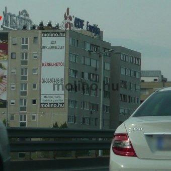Váci út – Róbert Károly körút kereszteződés Árpád Híd Pesti hídfőnél BAL