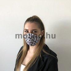 Varrott és nyomtatott maszk