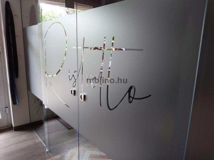 Matrica dekoráció: Café Reklám 03