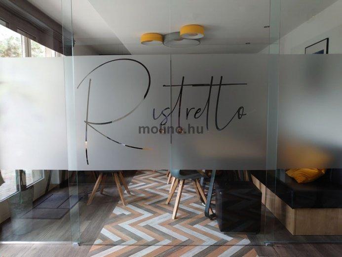 Matrica dekoráció: Café Reklám 05