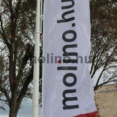 Mobil alumínium zászlórúd