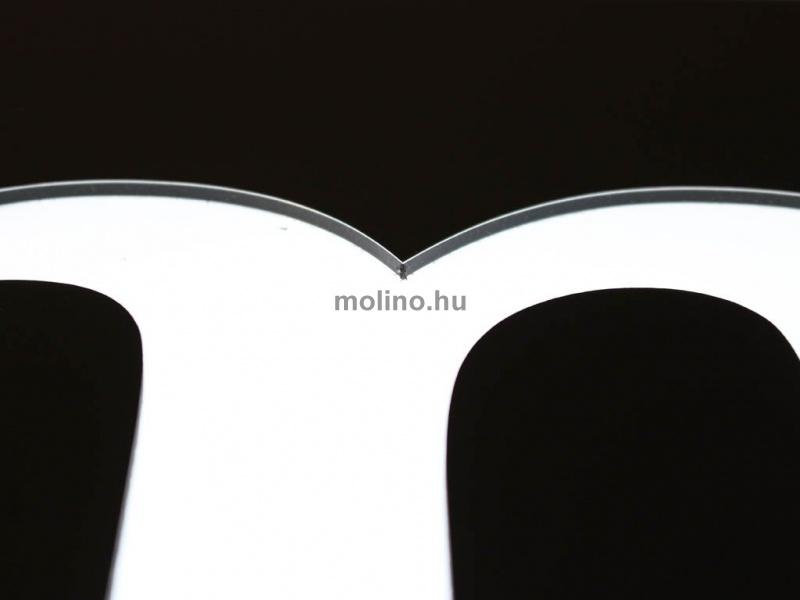 Hajlított dibond világító doboz 09