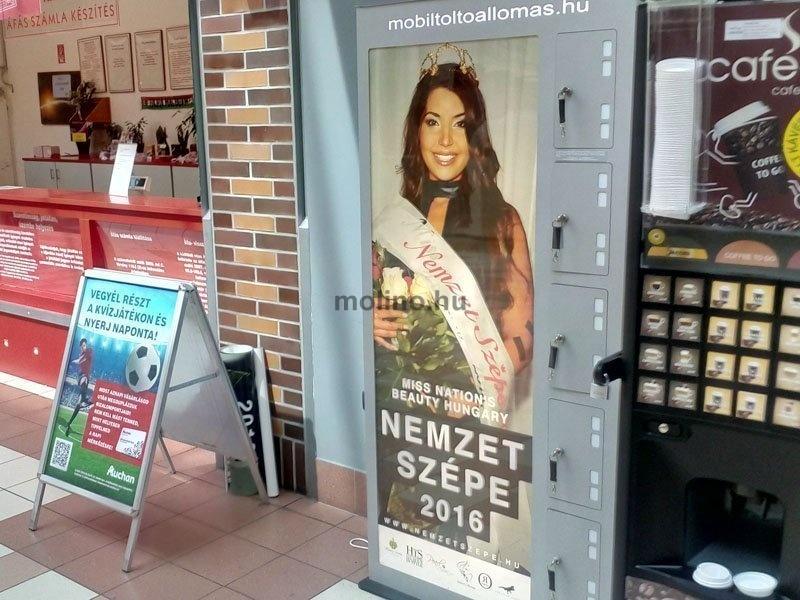 Mobil töltő állomás Auchan 0019