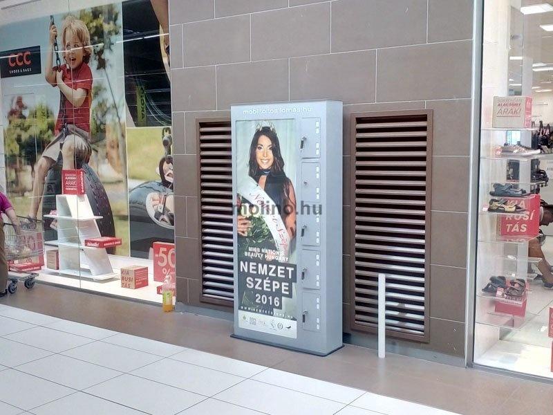 Mobiltöltő állomás Auchan 0014