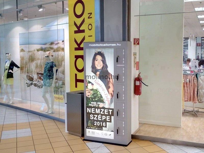 Mobiltöltőállomás Auchan 008