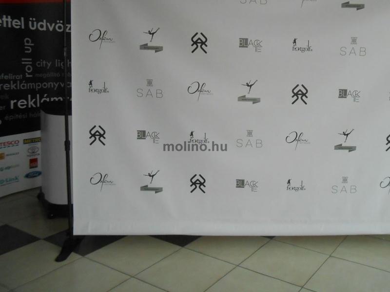 Molinó Állvány / Sajtófal