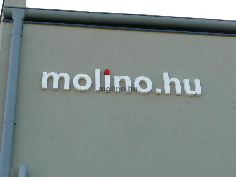 molino habbetű felirat 12