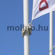 Zászlórúd fém karabínerrel