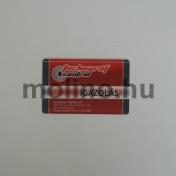RFID plasztikkártya 003