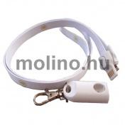 Telefontöltő nyakpánt 01