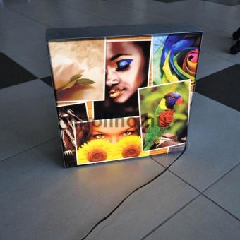 Világító textil doboz